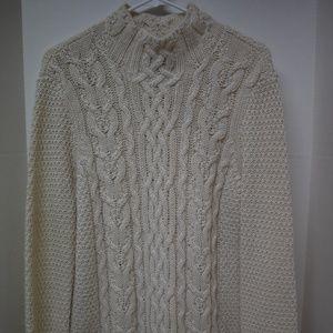 Lauren Ralph Lauren Cableknit Sweater Alpaca Blend